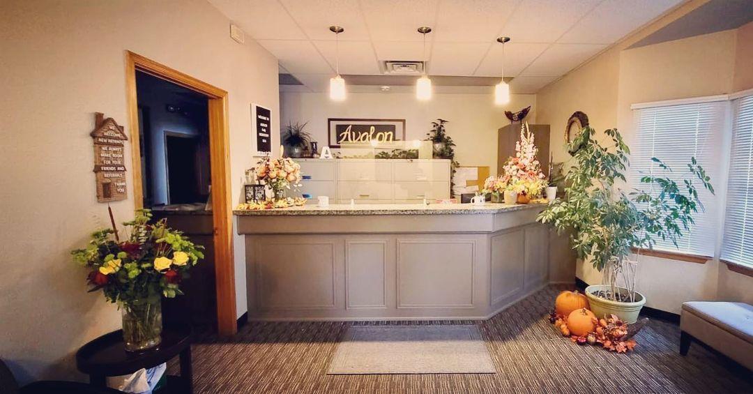 avalon family dentistry lobby