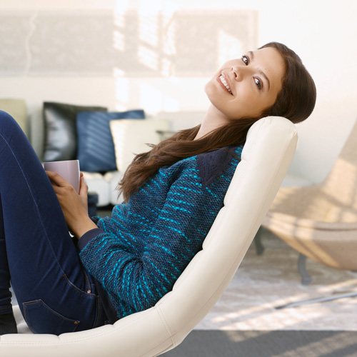 young-woman-relaxing-at-home